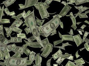 דולרים באוויר