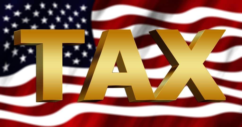 דגל אמריקה ואותיות באנגלית